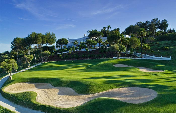 Golf course at Estepona Golf