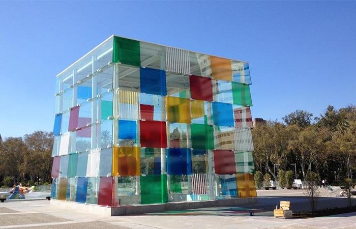 El Cubo av Centre Pompidou i Malaga