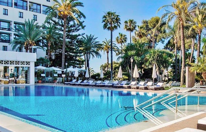 Pool des Hotel Los Monteros (Marbella)