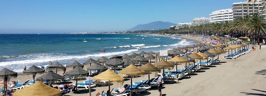 Les plages de la Costa del Sol