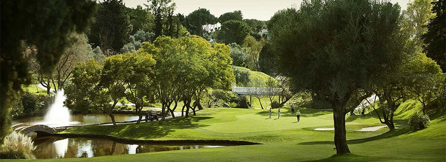 Witness the spectacular sunset on the course of Aloha Golf Club in Marbella