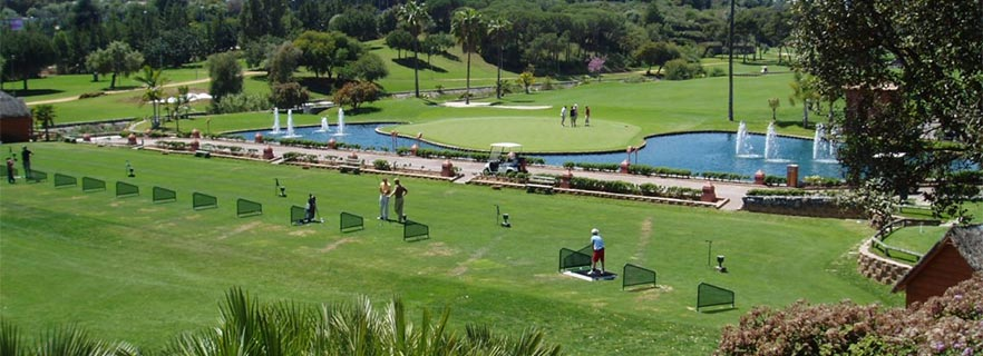 Zone training i Santa Clara Golf Marbella