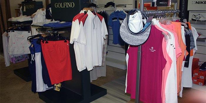 Sisätilojen golf shop Santa Clara Golf Marbella
